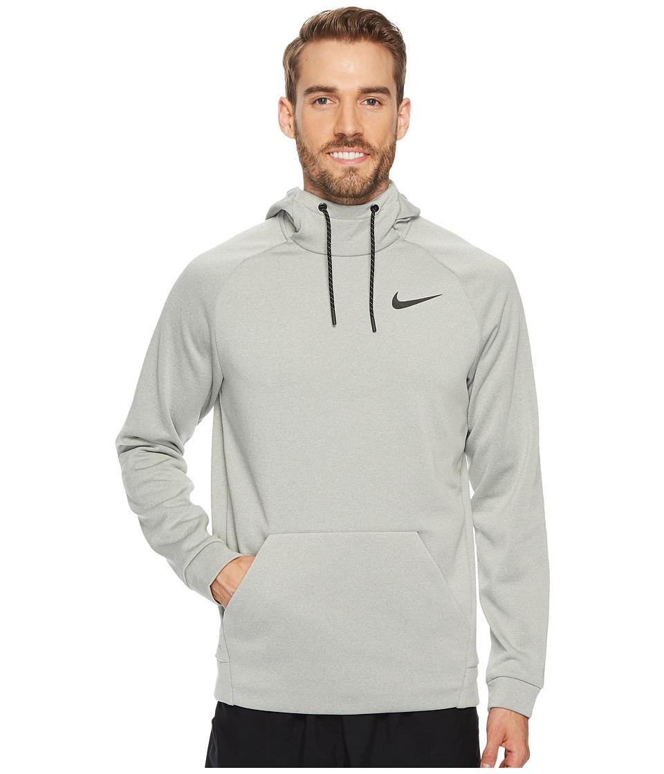 Nike Therma Sphere Pullover Training Hoodie (Grey Heather/Black/Black) Men