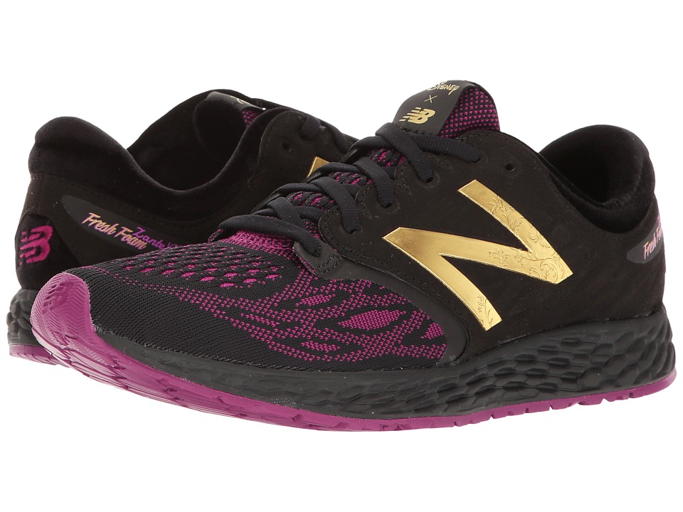 New Balance - Belle the Rose Zante v3 (Black/Mulberry) Womens Shoes
