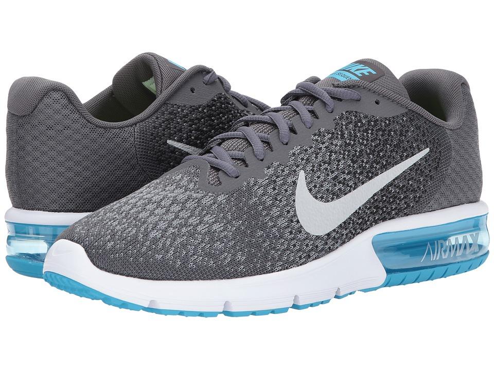 Nike Air Max Sequent 2 (Dark Grey/Metallic Silver/Black/Stealth) Men