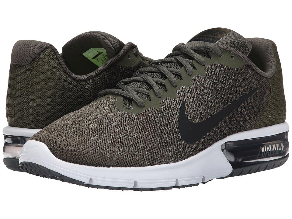 Nike Air Max Sequent 2 (Cargo Khaki/Black/Medium Olive/Dark Grey) Men