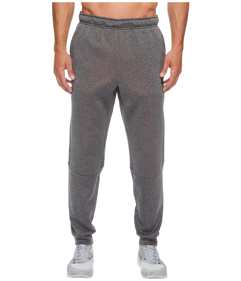 Nike Therma Sphere Training Pant (Charcoal Heather/Hyper Crimson/Black) Men