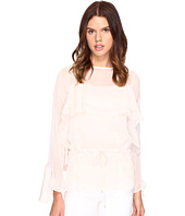 See by Chloe - Georgette Long Sleeve Ruffle Blouse
