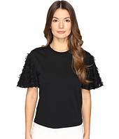 See by Chloe - Cotton Embellished Sleeve Blouse