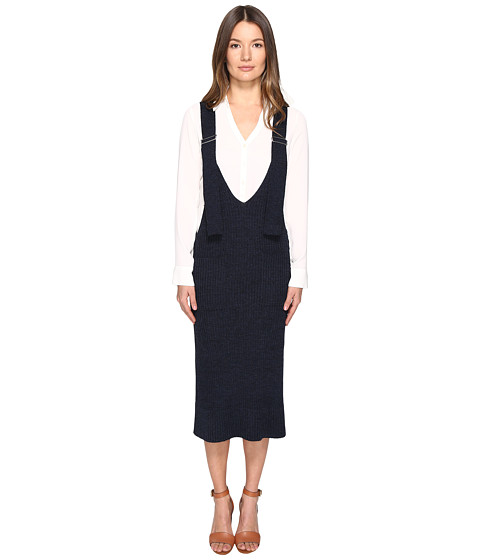 See by Chloe Wool Overall Dress