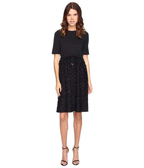 See by Chloe Cotton Embellished Drawstring Dress