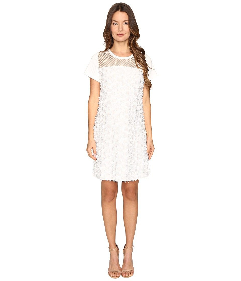 See by Chloe Cotton Embellished Dress (Cloud Dancer) Women