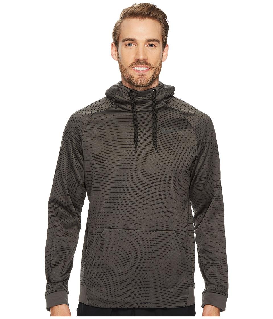 Nike Therma Storm Pullover Training Hoodie (Midnight Fog/Black) Men