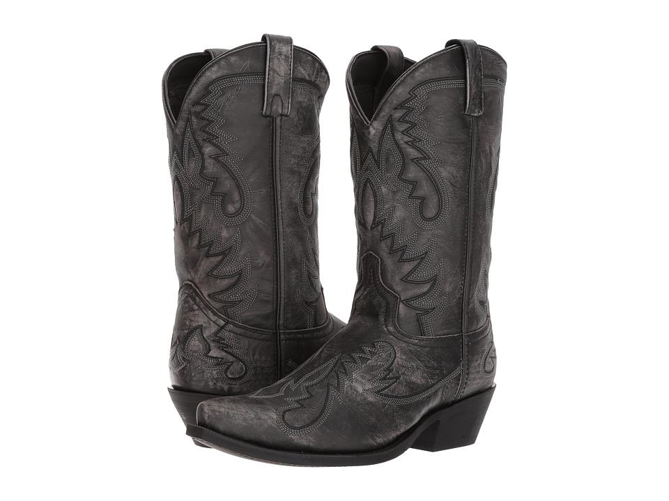 Laredo - Garrett (Sanded Black) Cowboy Boots