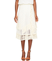 See by Chloe - Crochet Fringe Skirt