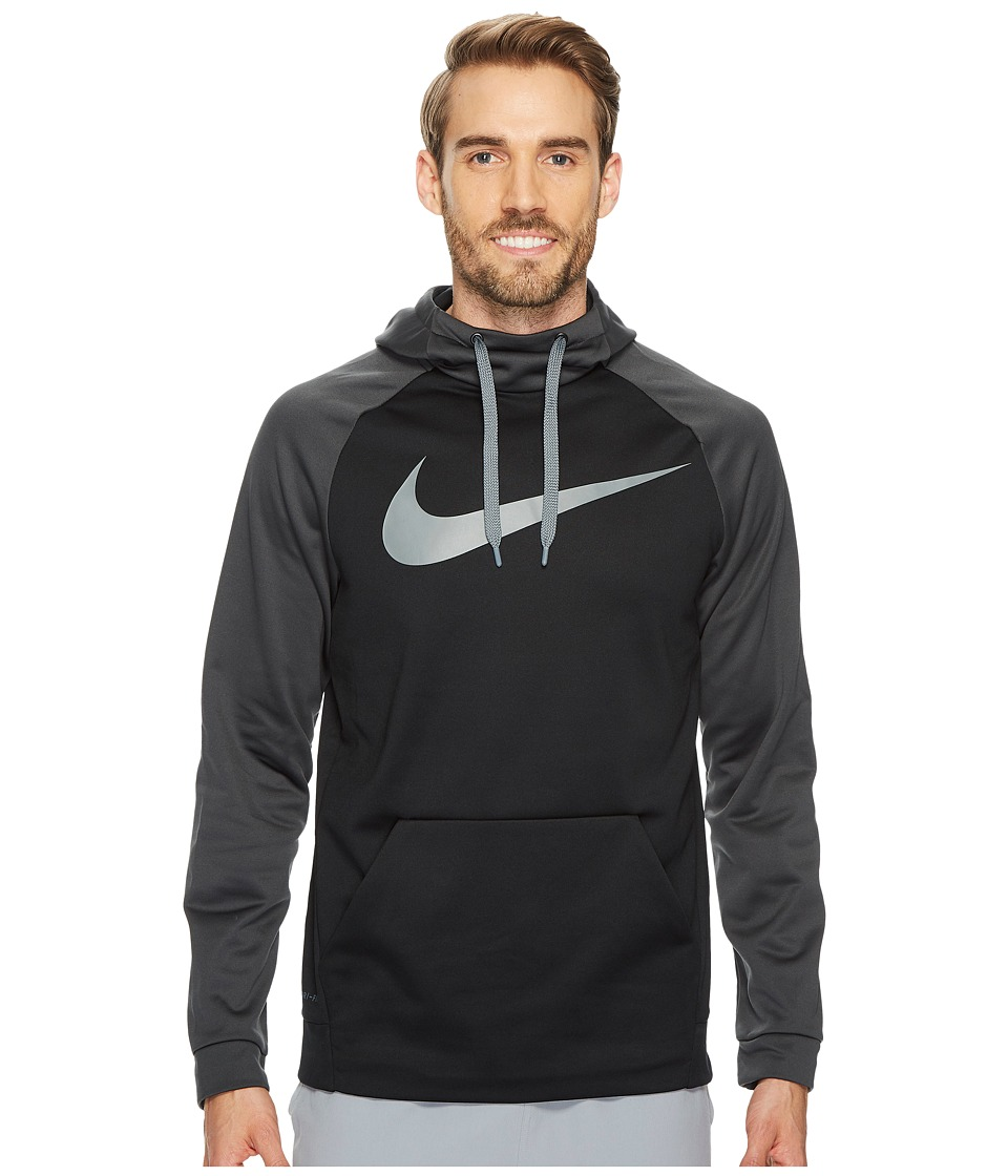 Nike Therma Training Pullover Hoodie (Black/Anthracite/Cool Grey) Men