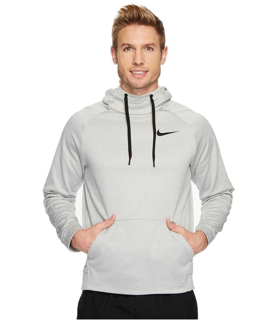 Nike Therma Pullover Training Hoodie (Grey Heather/Black) Men