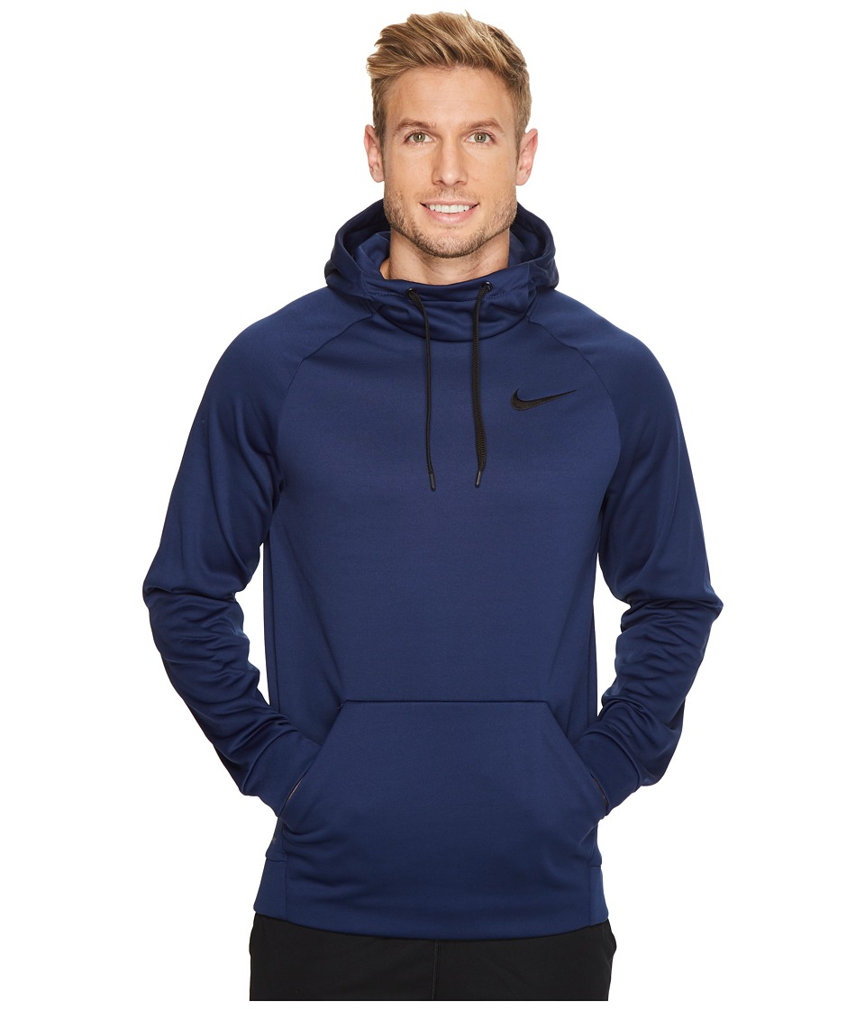 Nike Therma Pullover Training Hoodie (Binary Blue/Black) Men