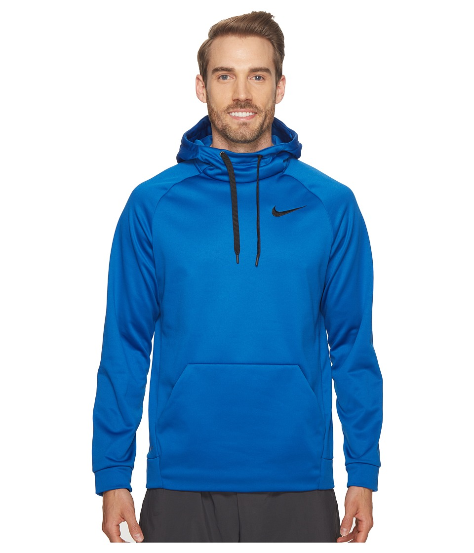 Nike Therma Pullover Training Hoodie (Blue Jay/Black) Men