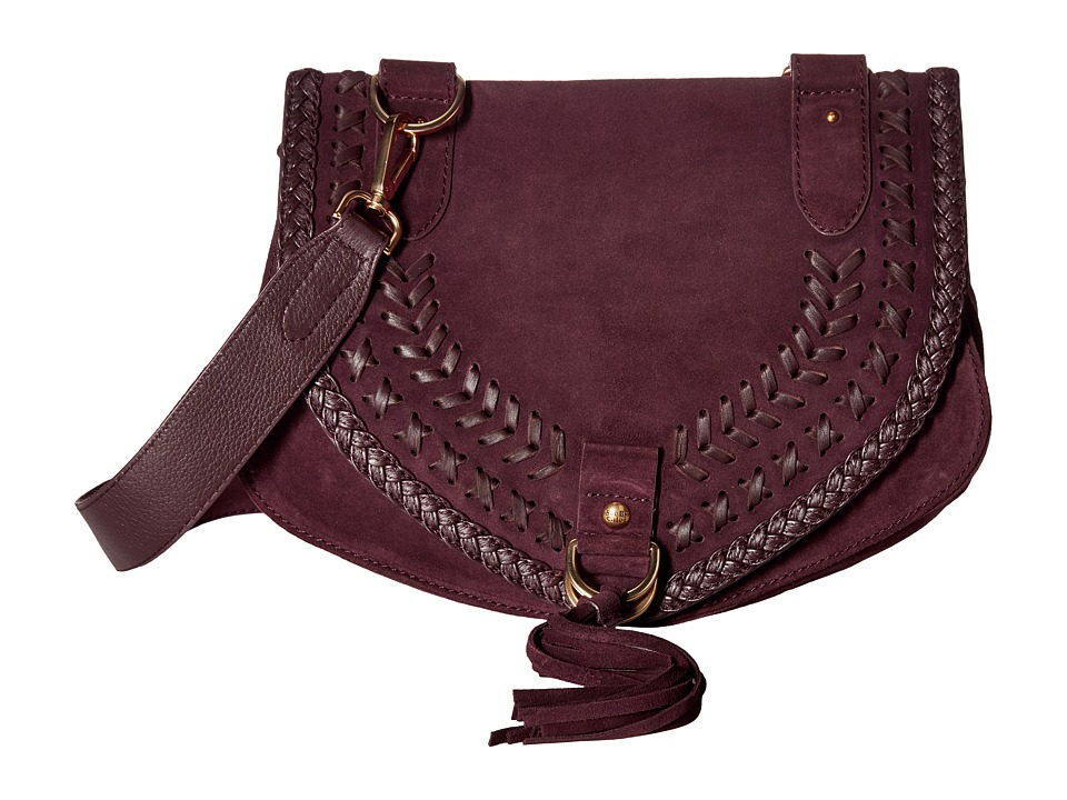 See by Chloe Collins Medium Messenger (Dark Plum) Messenger Bags