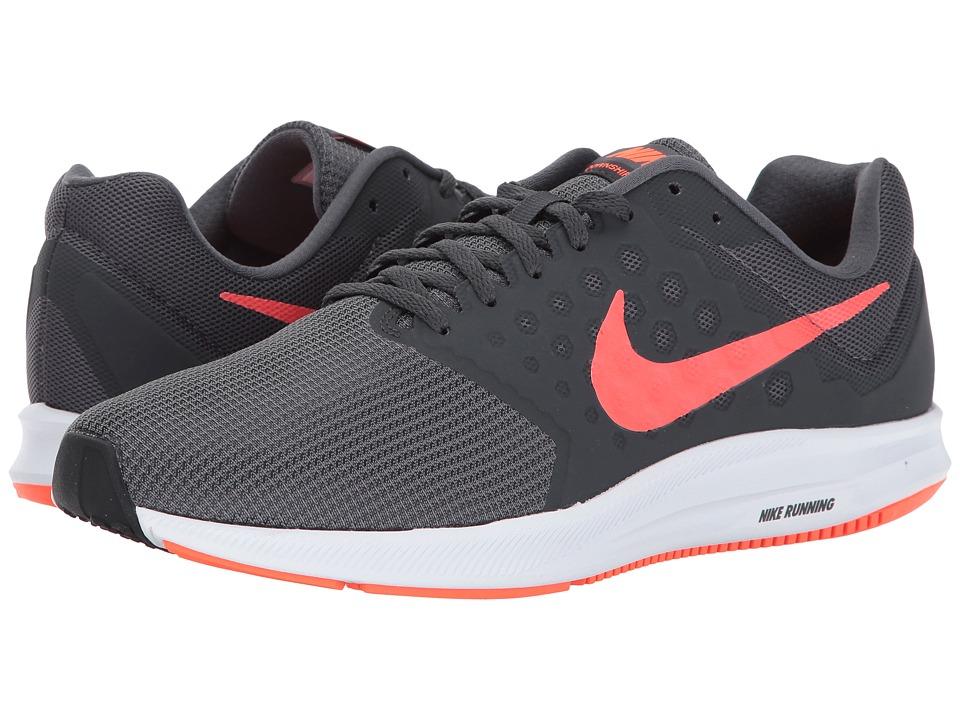 Nike Downshifter 7 (Dark Grey/Total Crimson/Anthracite/Black) Men