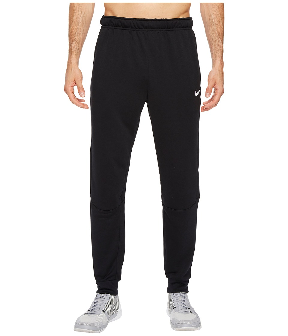 Nike Dry Training Tapered Pant (Black/Silver) Men
