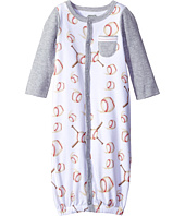 Mud Pie - Baseball Convertible Gown (Infant)