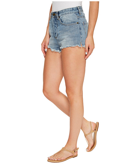 Amuse Society Easton Mid-Rise Denim Shorts in Faded Indigo at ...