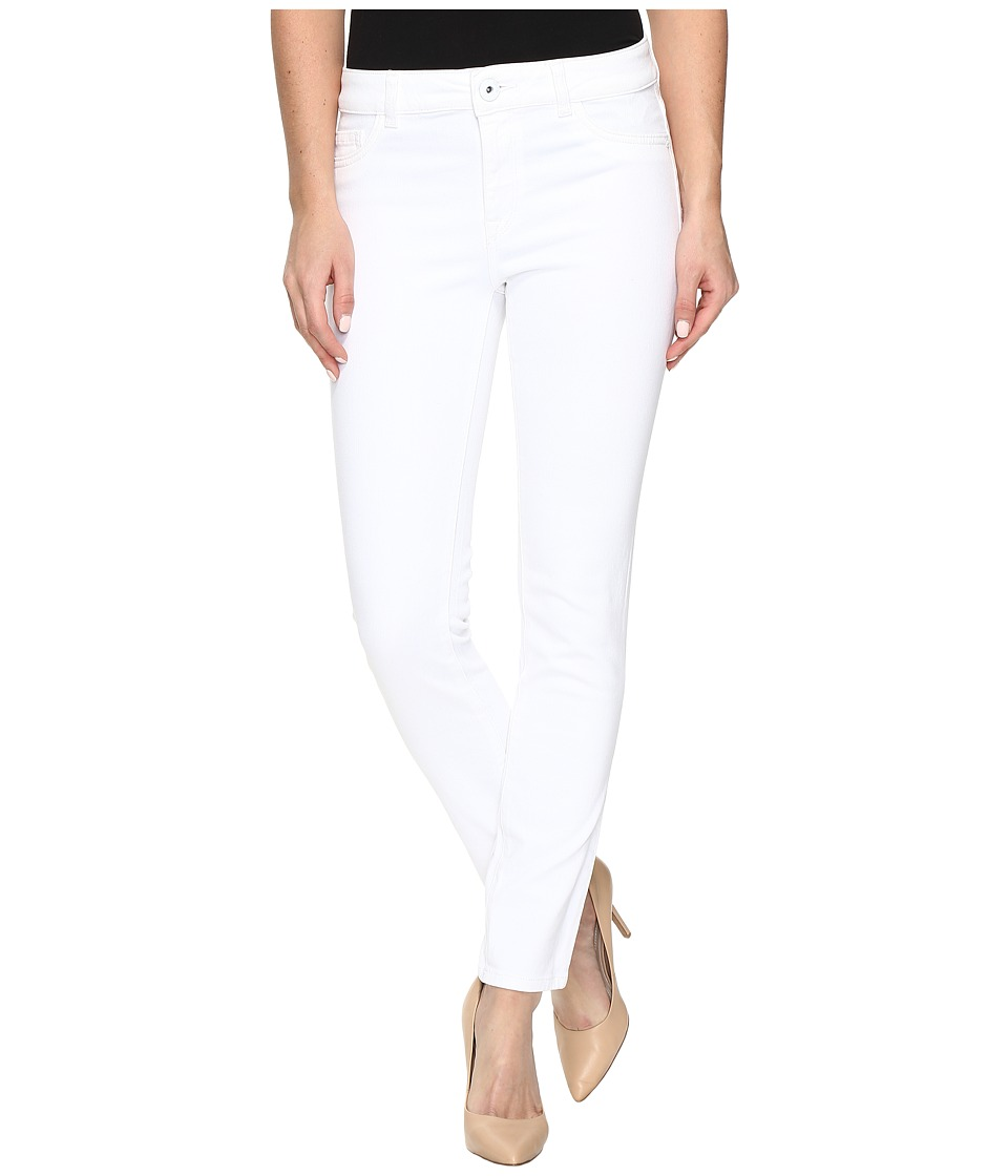 DL1961 Margaux Instasculpt Ankle Skinny in Porcelain (Porcelain) Women