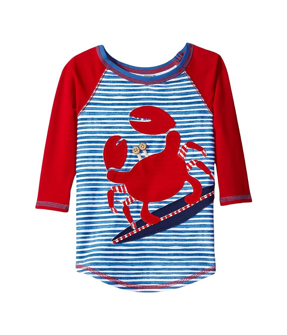 Mud Pie Crab Rashguard (Infant/Toddler) (Red) Boy