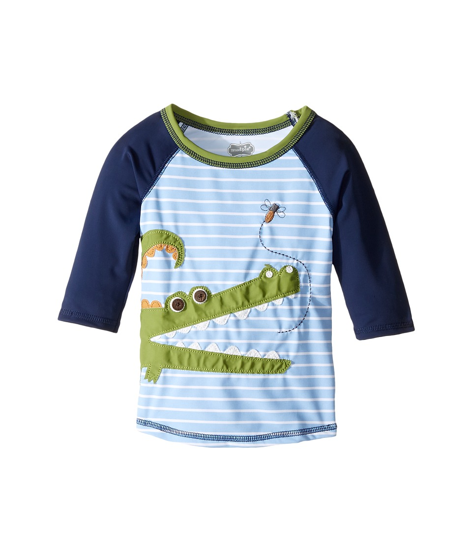 Mud Pie Gator Rashguard (Infant/Toddler) (Blue) Boy