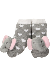 Mud Pie - Gray Grandma Favorite Bib and Sock Set (Infant)
