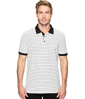 Nautica - Short Sleeve Yarn-Dyed Stripe Polo