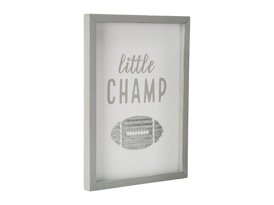 Mud Pie - Little Champ Plaque