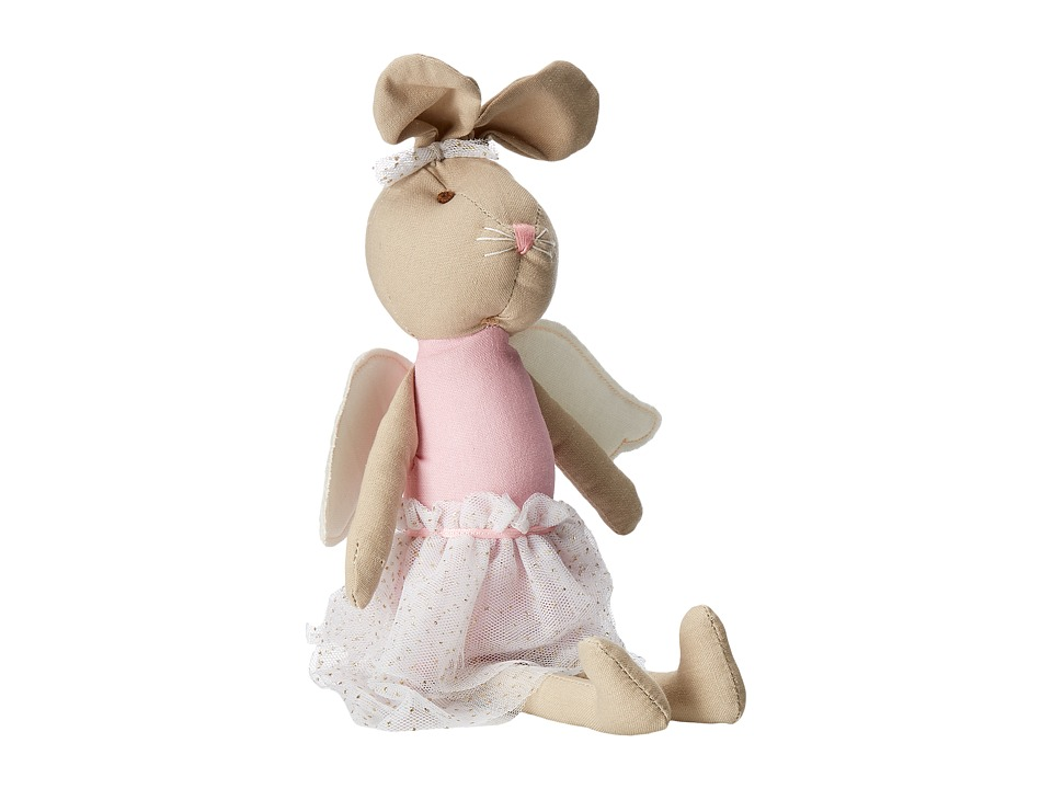 Mud Pie - Linen Bunny Princess Doll (Pink) Accessories Travel