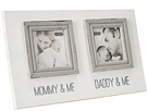 Mud Pie Mommy Daddy Double Frame