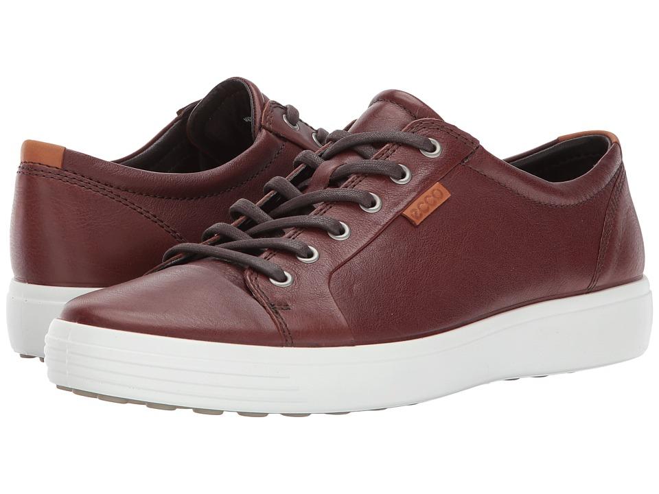 ECCO Soft VII Sneaker (Whisky) Men