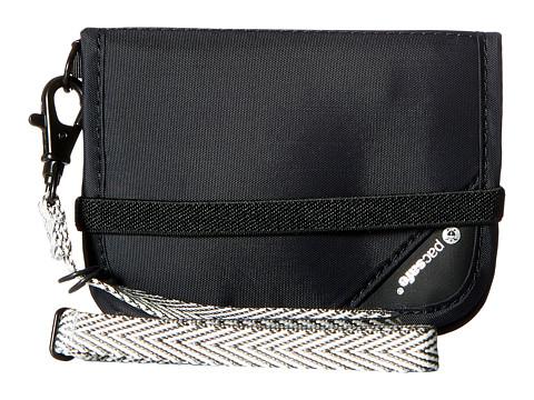 Pacsafe RFIDsafe V50 Anti-Theft RFID Blocking Compact Wallet - Black