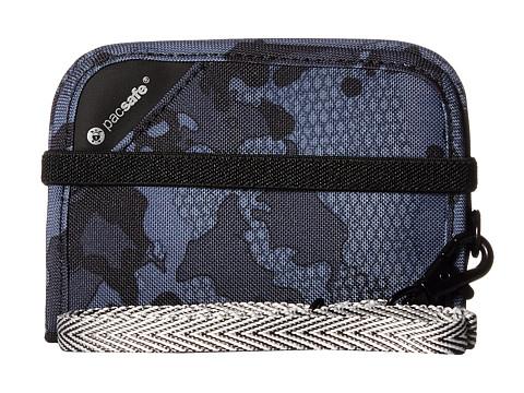 Pacsafe RFIDsafe V50 Anti-Theft RFID Blocking Compact Wallet - Grey Camo