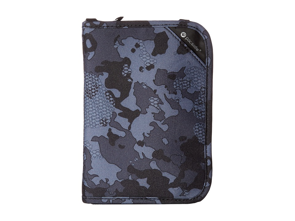 Pacsafe - RFIDsafe V150 Anti-Theft RFID Blocking Compact Organizer (Grey Camo) Wallet