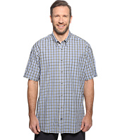 Nautica Big & Tall - Big & Tall Short Sleeve Plaid Woven