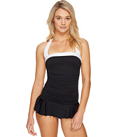 LAUREN Ralph Lauren - Bel Aire Solid Skirted Mio One-Piece