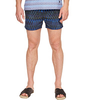 Missoni - Mare Printed Nylon Zigzag Swim Trunks