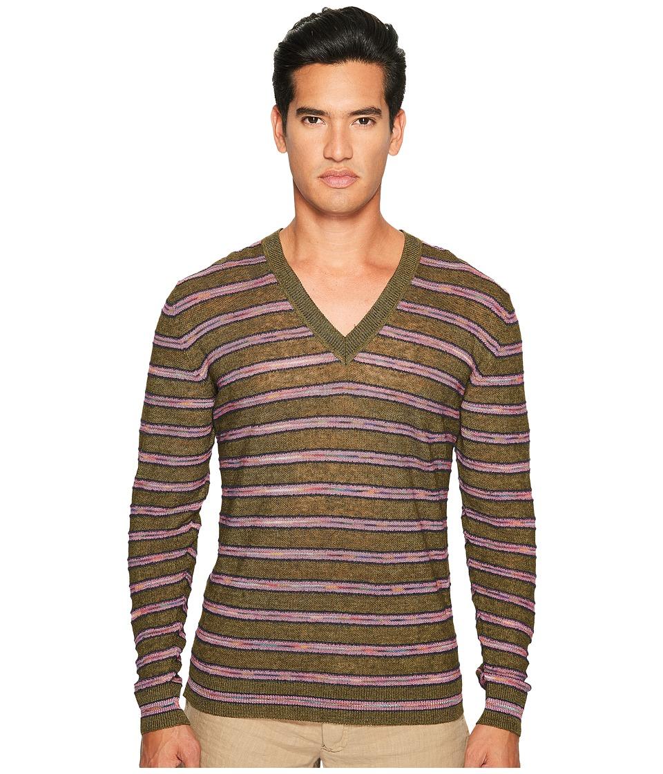 Missoni - Striped Linen Sweater