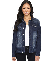 Jag Jeans - Lowen Laser Mission Denim Jacket in Rapid Dark