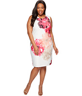 Calvin Klein Plus - Plus Size Printed Sheath Dress