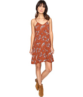 Brigitte Bailey - Clementine Paisley Floral Print Spaghetti Strap Dress