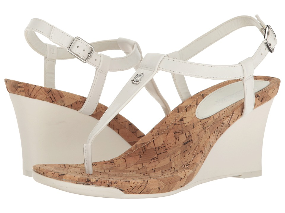 Ralph Lauren Naris (White) Women's Shoes