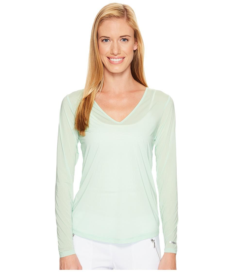 Jamie Sadock - Sunsence Lightweight Long Sleeve Layering Under Garment Top with UVP 30