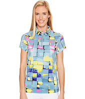 Jamie Sadock - Digi Box Print Short Sleeve Top