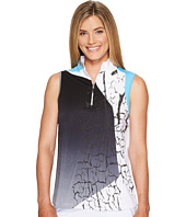Jamie Sadock - Crackle Print Sleeveless Top