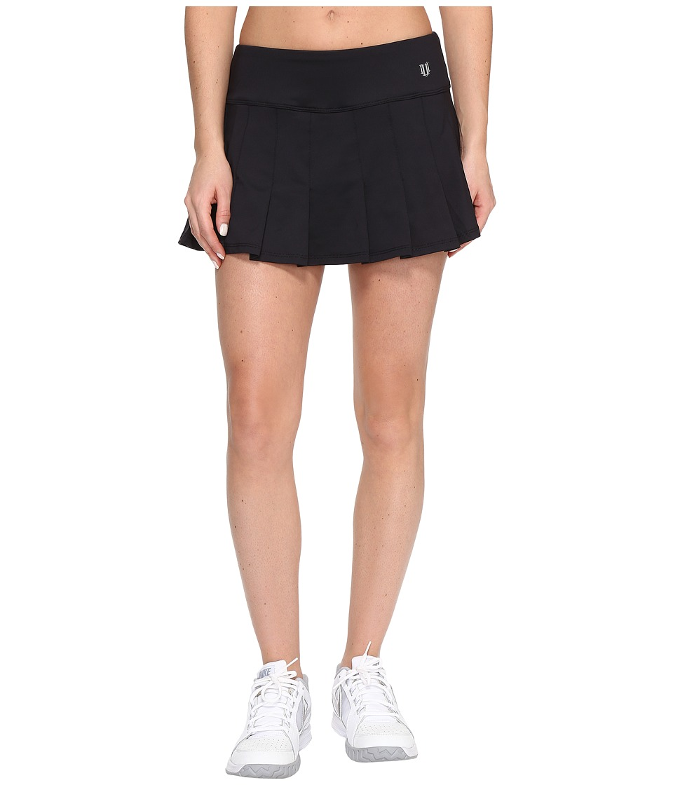 Eleven by Venus Williams Core 12 Flutter Skirt (Black) Women