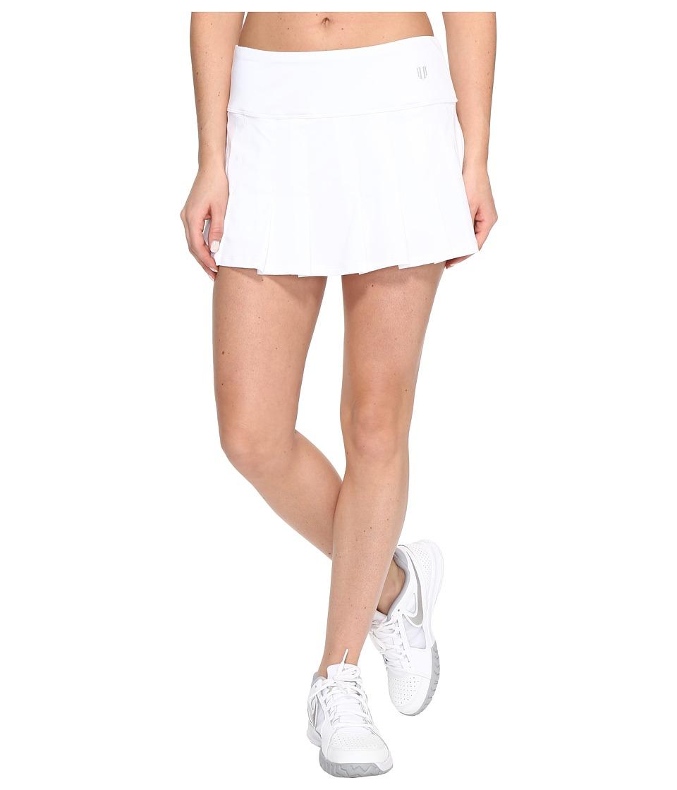 Eleven by Venus Williams - Core 12 Flutter Skirt (White) Womens Skirt