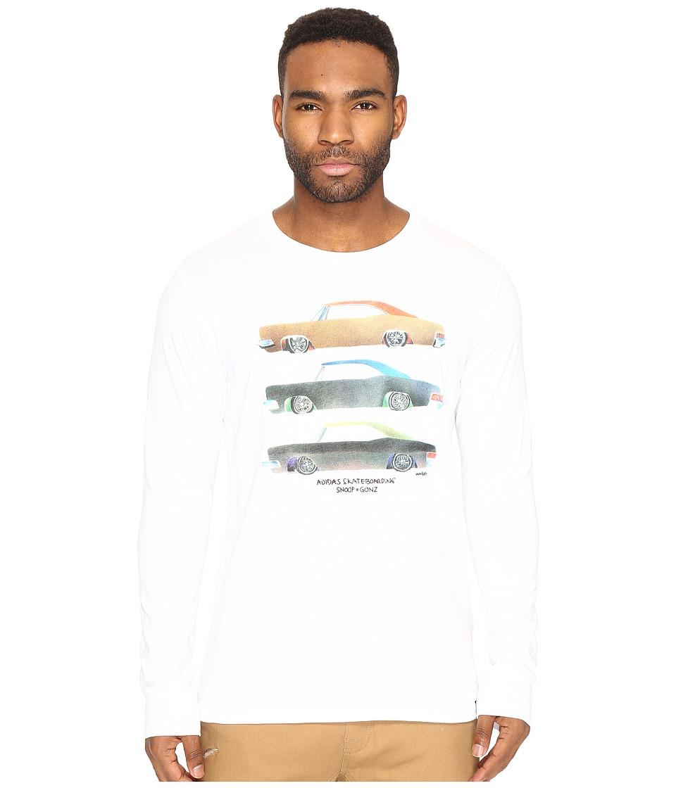 adidas Skateboarding - Snoop X Gonz Long Sleeve Tee