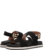 LOVE Moschino - Metal Heart Buckle Sandal