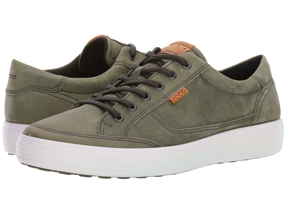 ECCO Soft Retro Sneaker (Wild Dove) Men